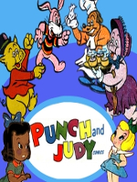 Punch and Judy Comics Puppets